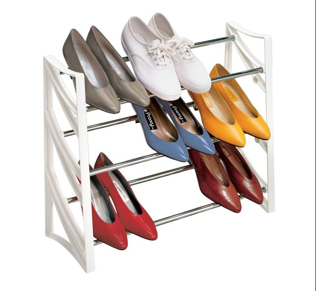 Lynk Convertible Shoe Rack Organizer