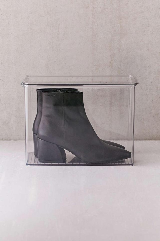 Transparent Tall Shoe Box