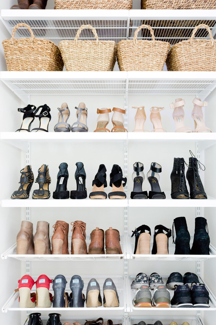 shoe organizing tips