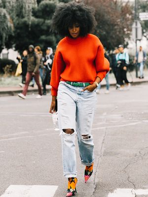 Never Make This Mistake When You Wear Clashing Colors