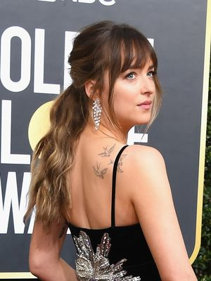 Dakota Johnson's Golden Globes Dress Deserves a Look From Every Angle
