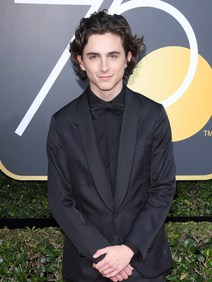 You Have to See How Hollywood's Stylish Men Wore Black at the Globes