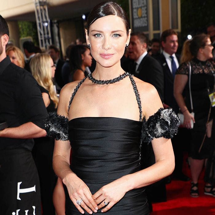 Caitriona Balfe S Stunning Engagement Ring Who What Wear