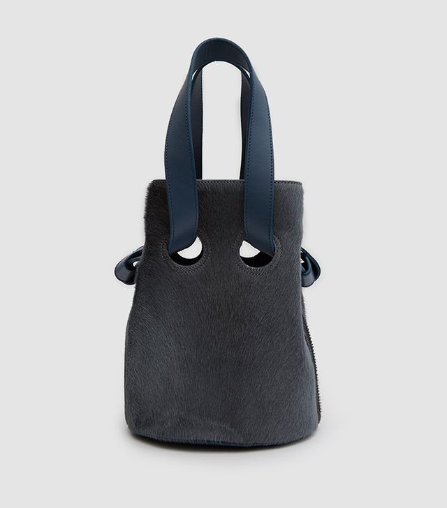 Goodall Bucket Bag in Slate
