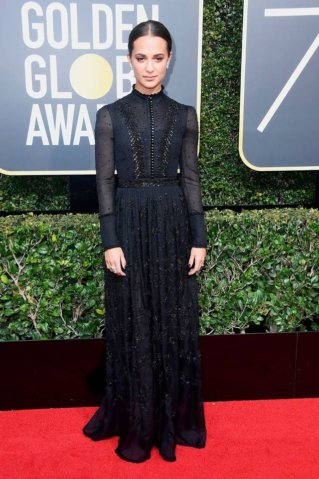 WHO: Alicia Vikander Next up, your guide to black-tie formal wear (and exactly what to wear).