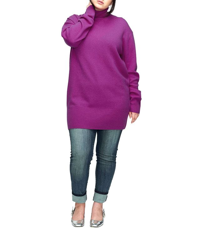 Plus Size Women's Universal Standard Wheaton Turtleneck Sweater