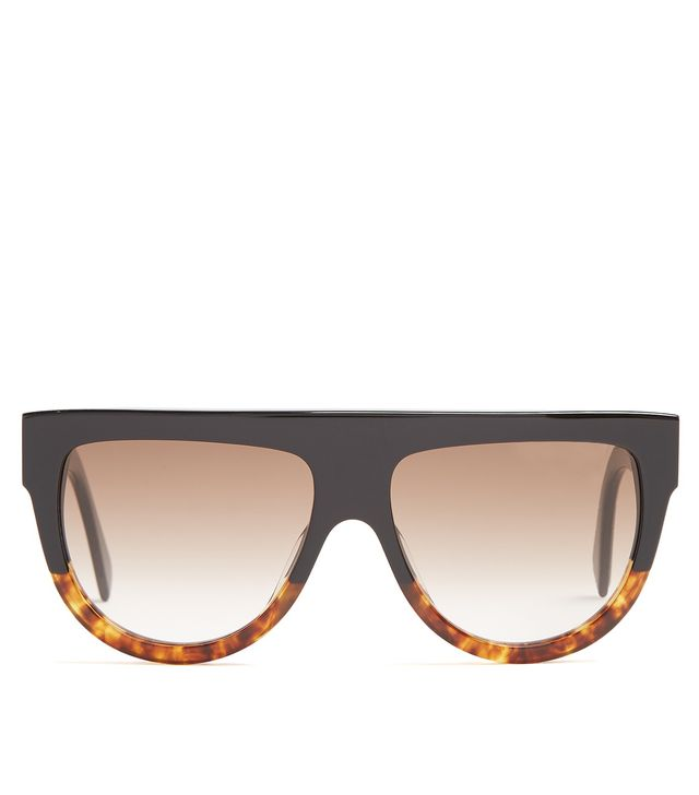 Shadow D-frame acetate sunglasses
