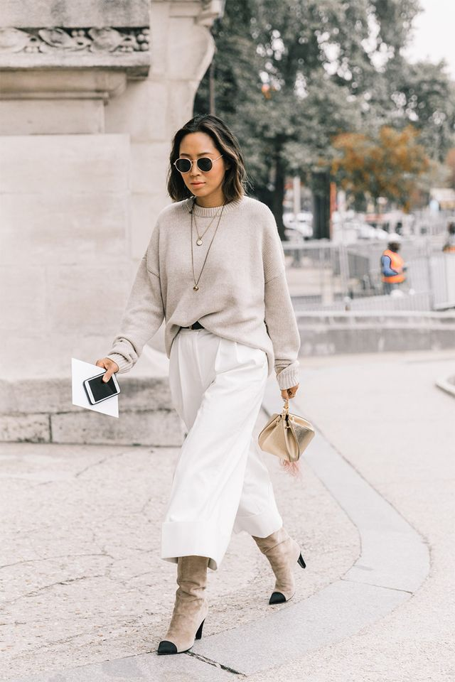Stick to neutral tones for a chic, minimalistic look.