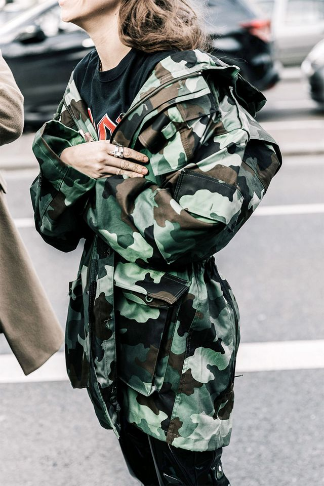 Try an oversize jacket.