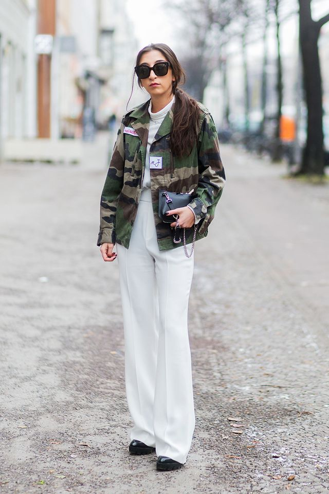 Add street style cool to your look with a statement jacket.