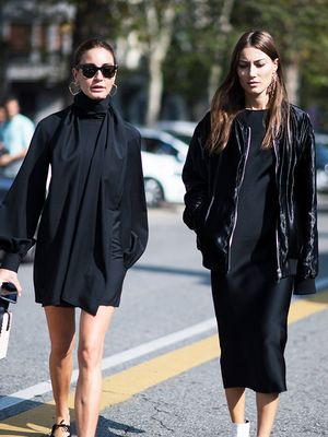 20 Machine-Washable Black Dresses That Are Actually Chic