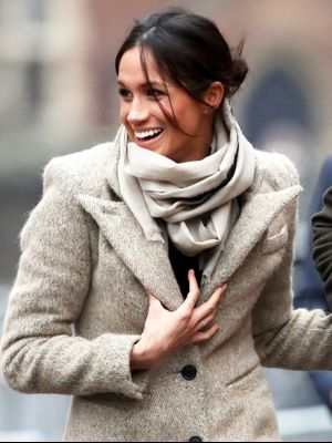 Meghan Markle Just Wore the Chicest Winter Outfit Combo of 2018