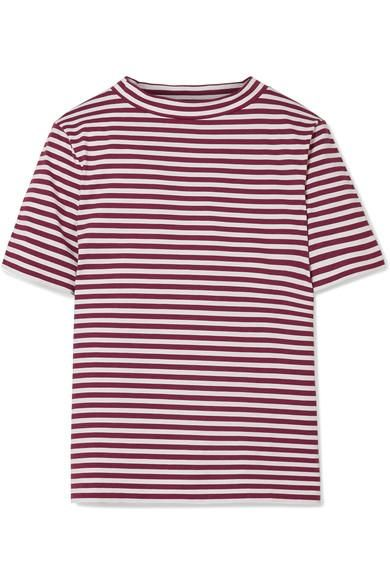 Penny Striped Cotton T-shirt