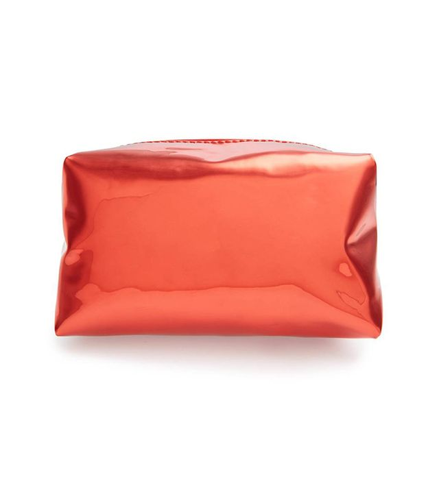 Yoki Bags Metallic Cosmetics Bag