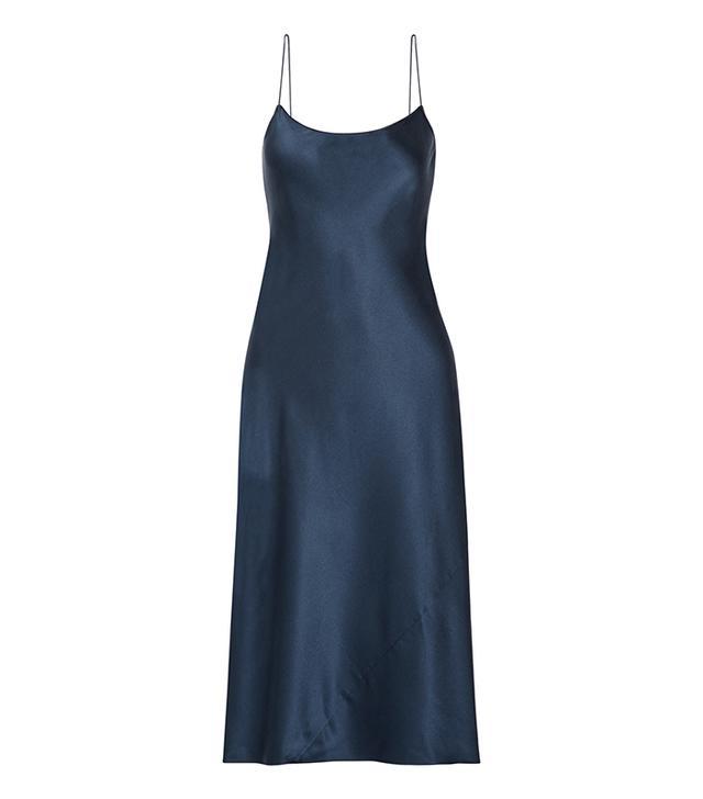 Telson Silk-satin Dress