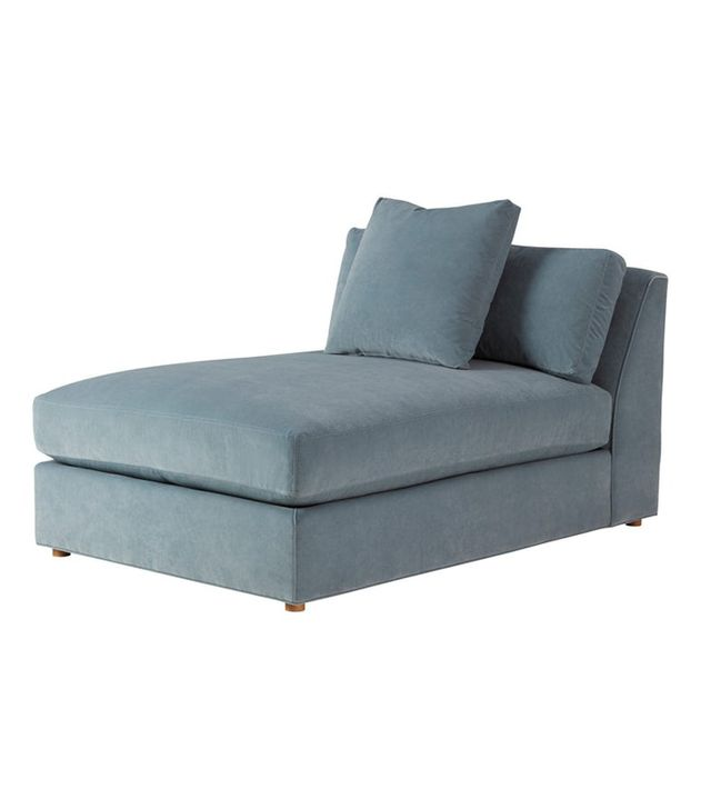 Curated Kravet Derring Armless Chaise