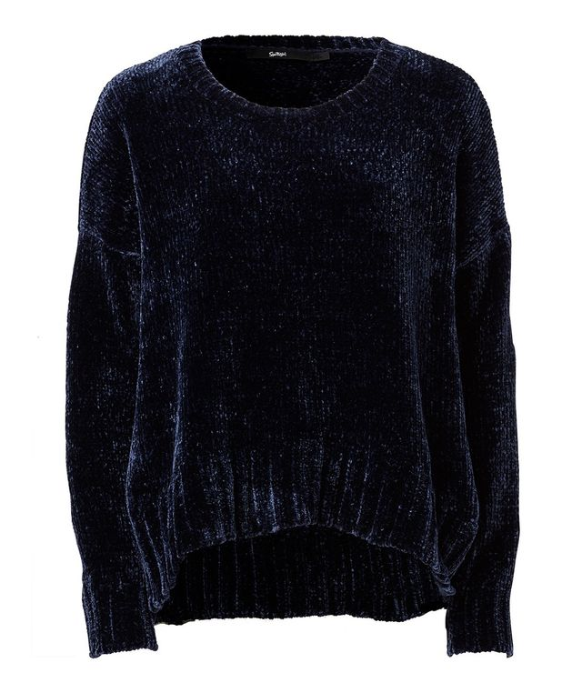 Plus Size Fuzzy Knit Sweater