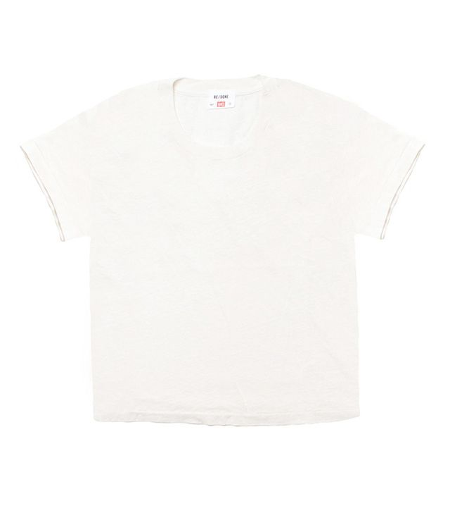 Re/Done x Hanes The 1950s Boxy Tee