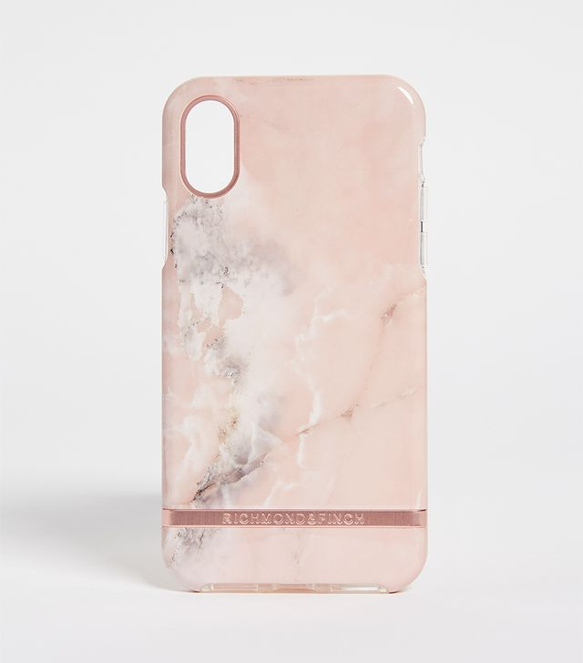 Pink Marble IPhone X Case