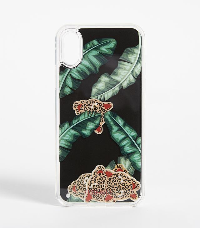 Jungle Black iPhone X Case
