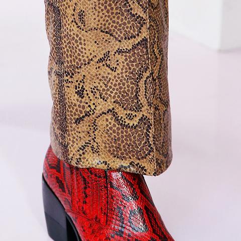 shoe trends 2018: cowboy boots at Chloé