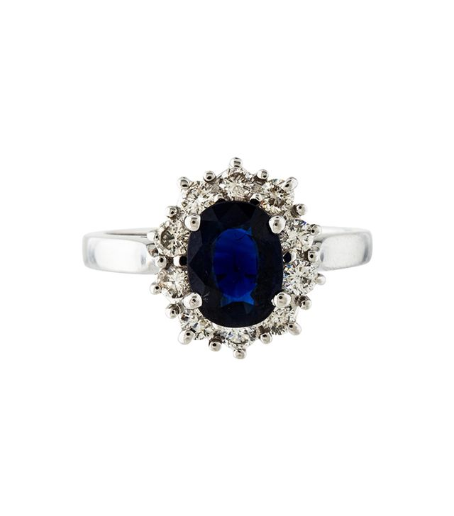 The Real Real 14K Sapphire & Diamond Ring