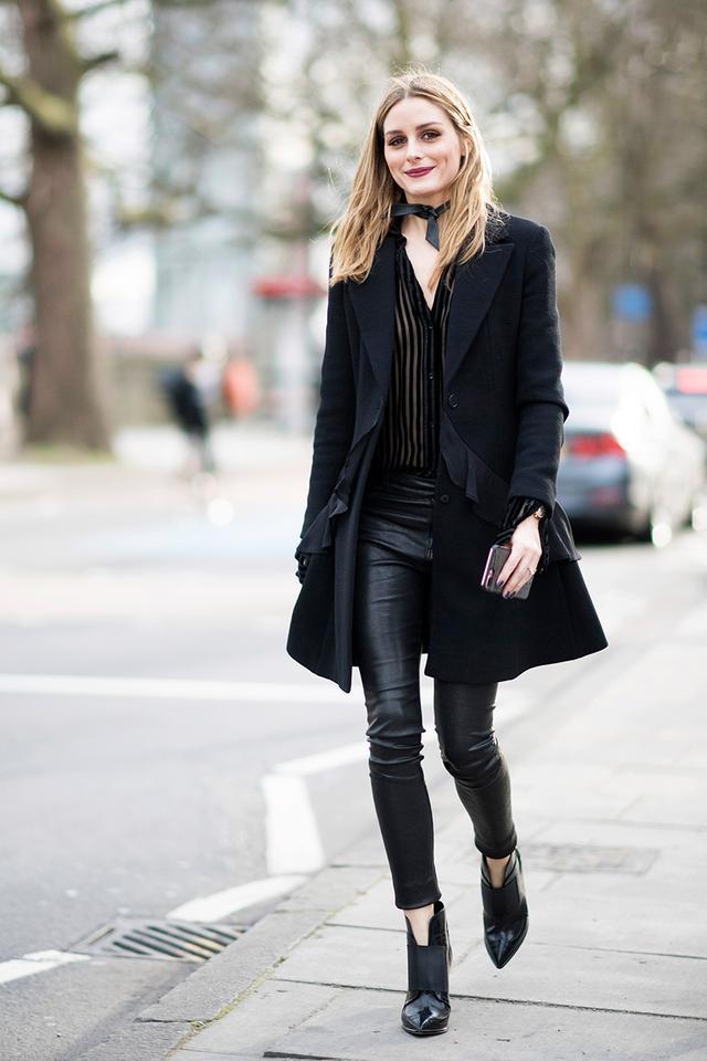 Olivia Palermo fashion week street style