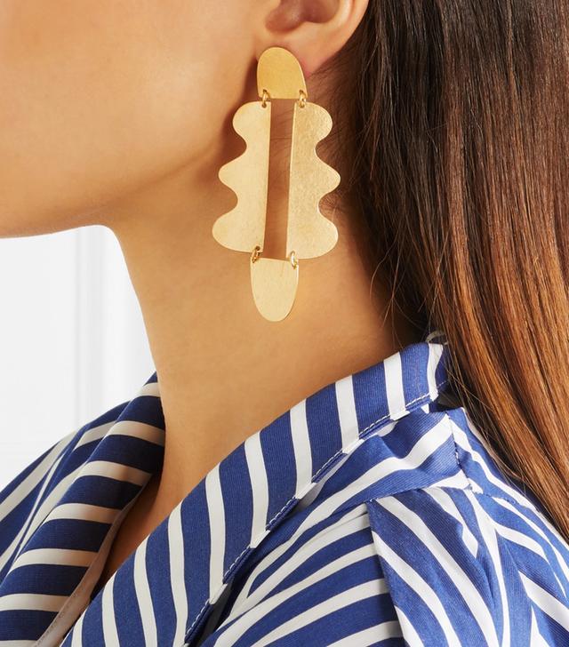 Matisse Gold-tone Earrings