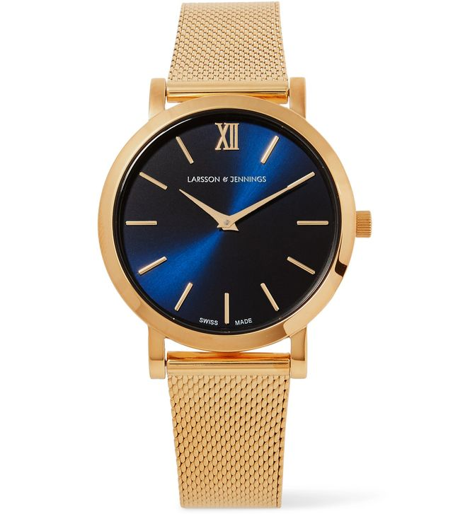 Lugano Solaris Gold-plated Watch