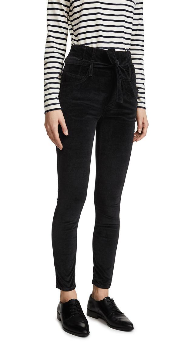 The Velvet Corset Stiletto Jeans