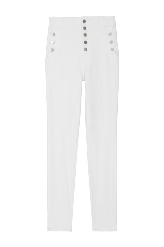 Natasha Sky High Super Skinny in Blanc