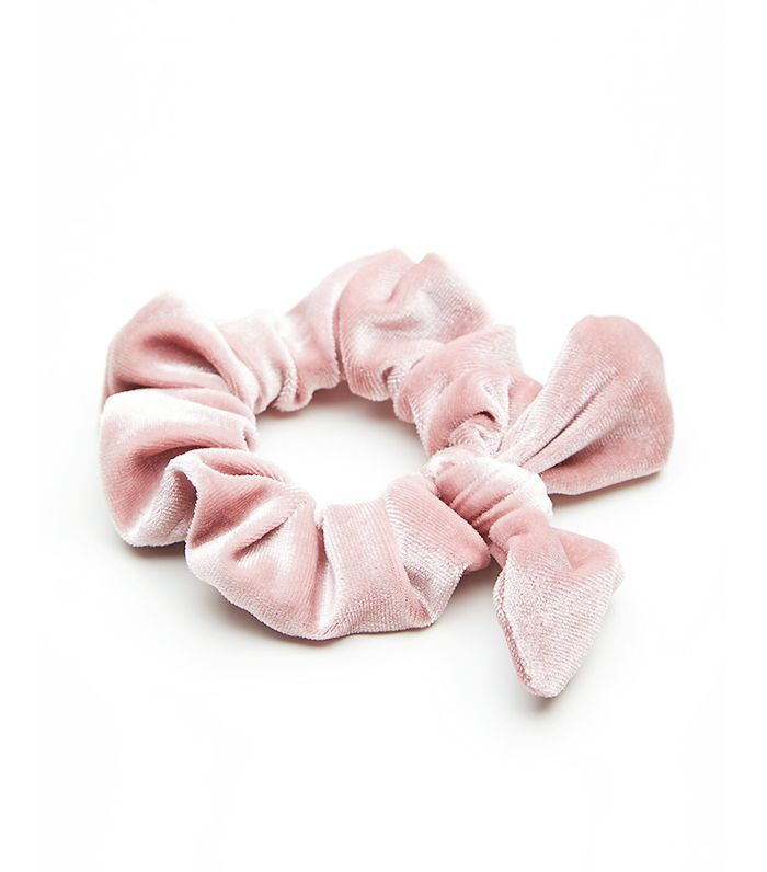 Knotted Velvet Scrunchie by Free People