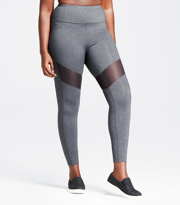 High Waist Mesh Leggings by JoyLab