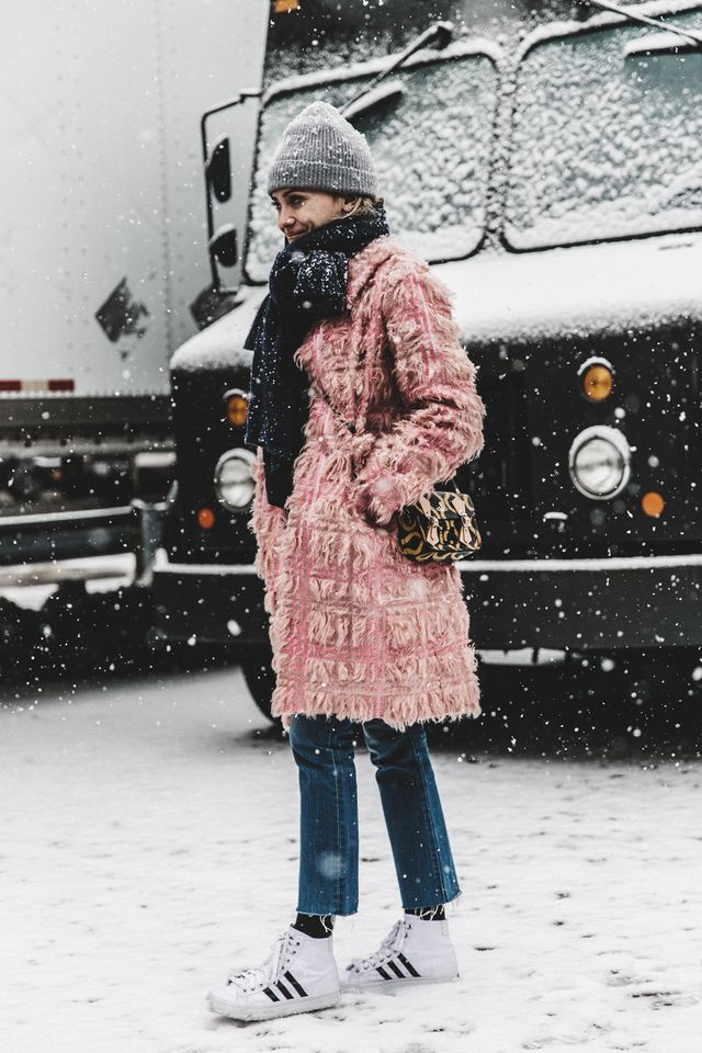 Let your tights be the sleek additional layer when you're heading into a blizzard.