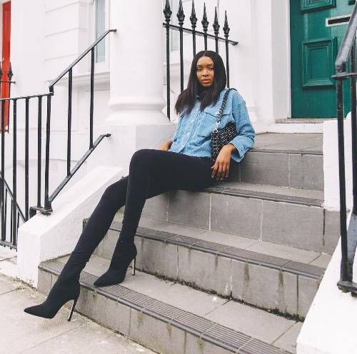 Best winter leggings: Natasha Ndlovu
