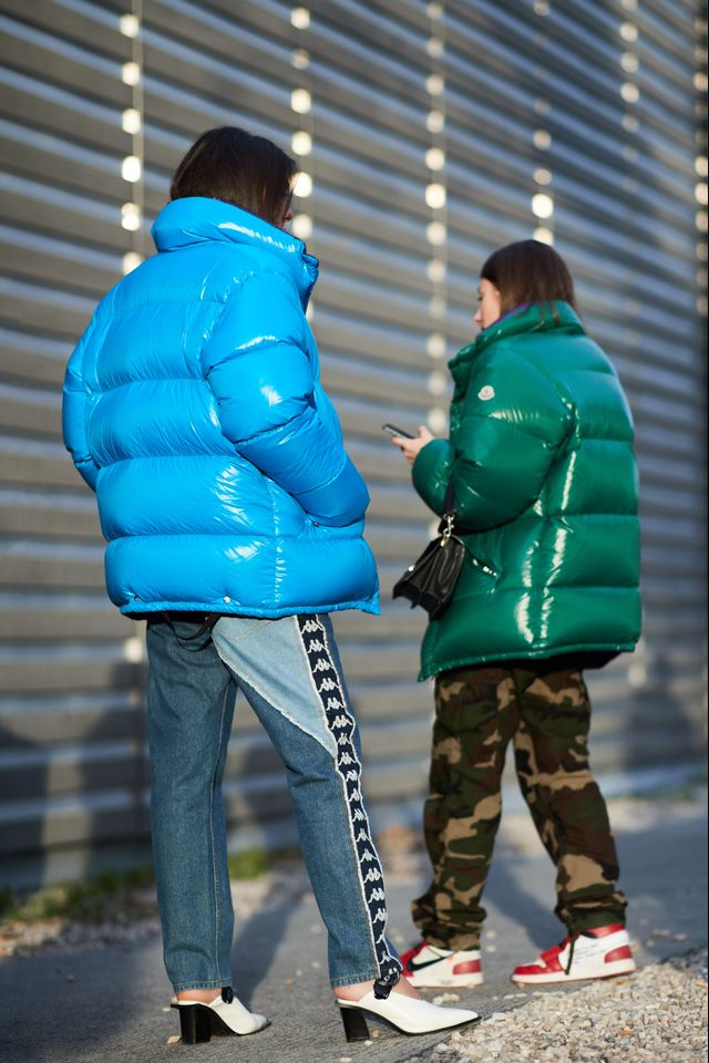 Color-coordinated puffer coats? The coolest way to match with yourBFF.