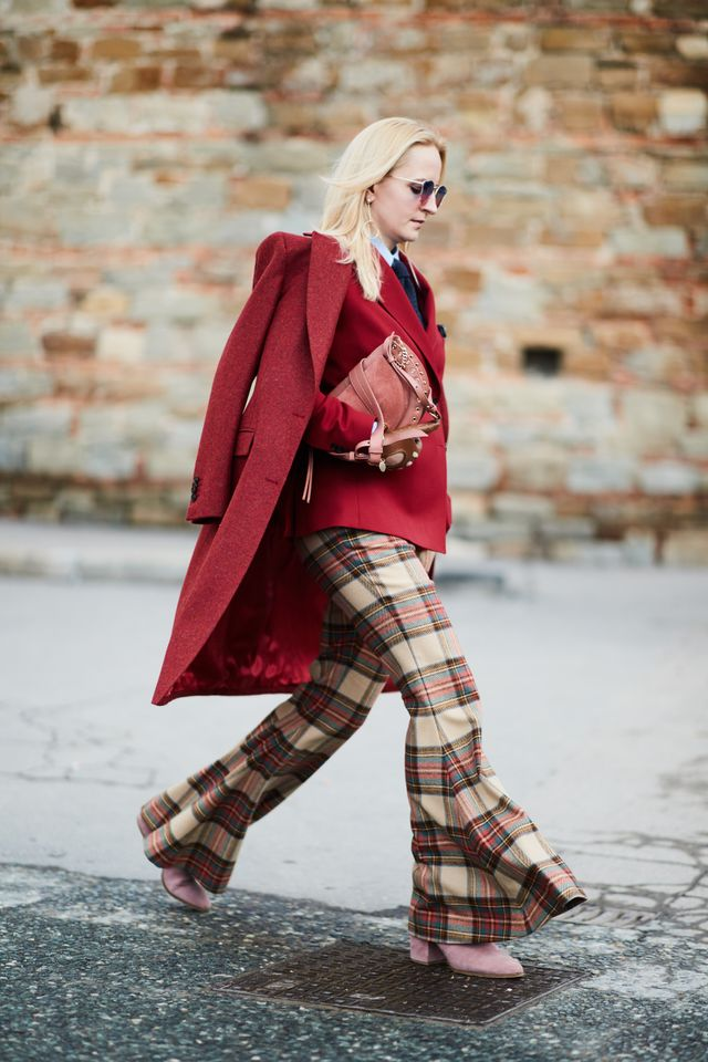 The coolest plaid trousers we've ever seen.