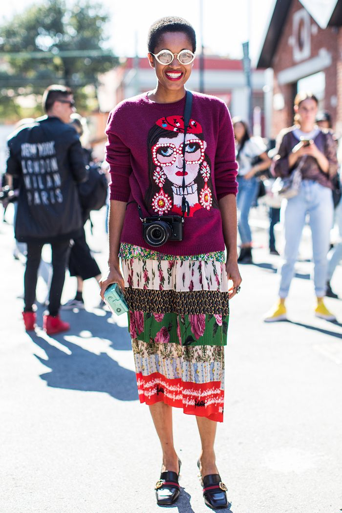 Gucci Street Style Outfit