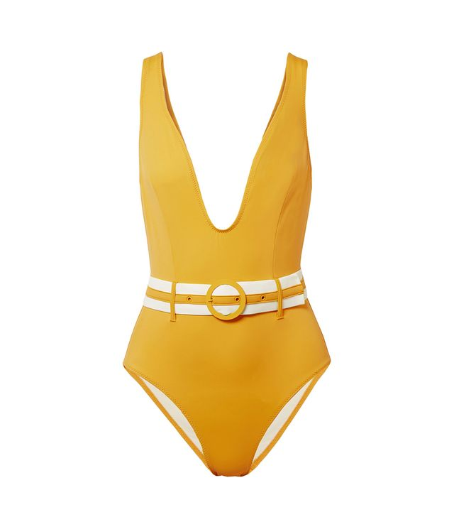 The Victoria Belted Swimsuit