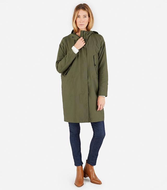 Women's City Anorak Jacket by Everlane in Surplus, Size L
