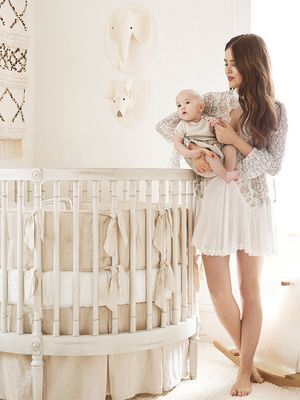 You'll Swoon Over This Fashion It Girl's Bohemian Nursery Décor