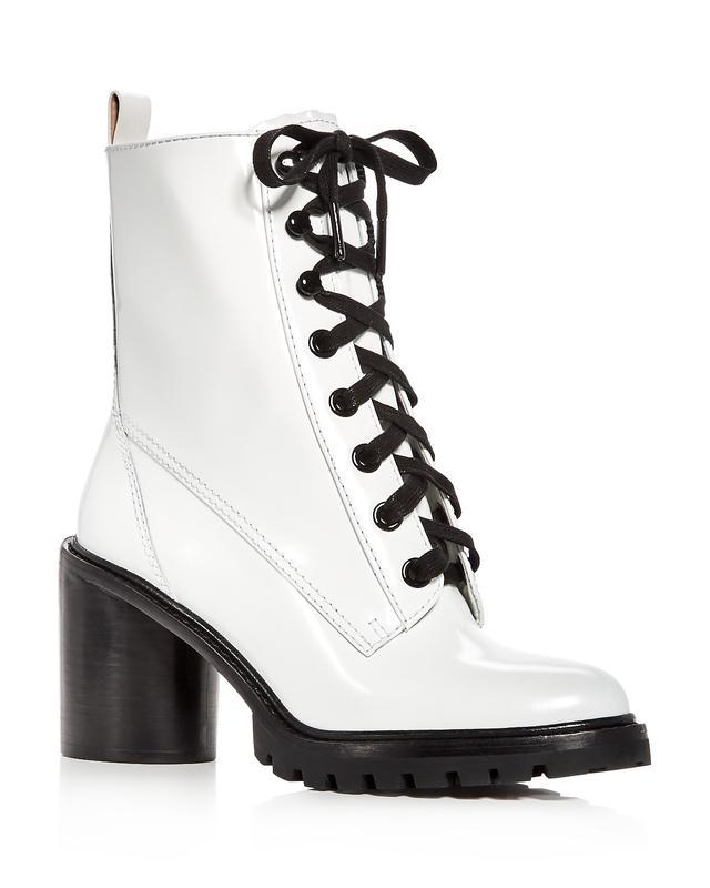 Women's Ryder Leather High Heel Booties