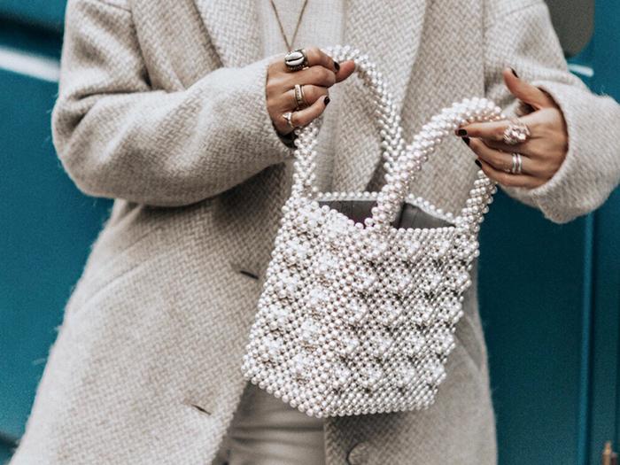 Unique Handbag Street Style