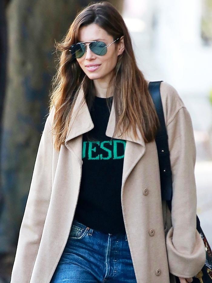 Let Jessica Biel Show You The Prettiest Heel Style To Wear