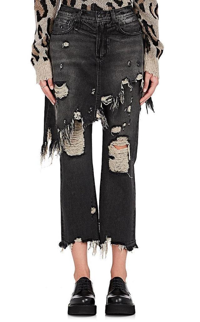 Women's Double Classic Crop Jeans