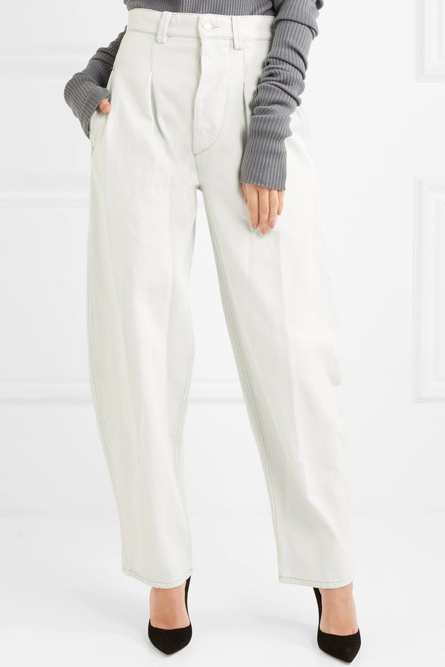 Netery High-rise Wide-leg Jeans