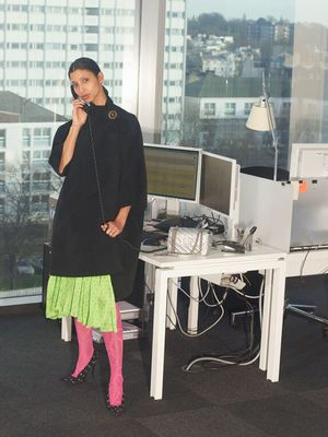 Balenciaga's Latest Capsule Collection Was Shot on Net-a-Porter Staff