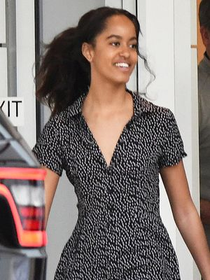 Malia Obama Wore a Cute $70 Urban Outfitters Romper in Miami