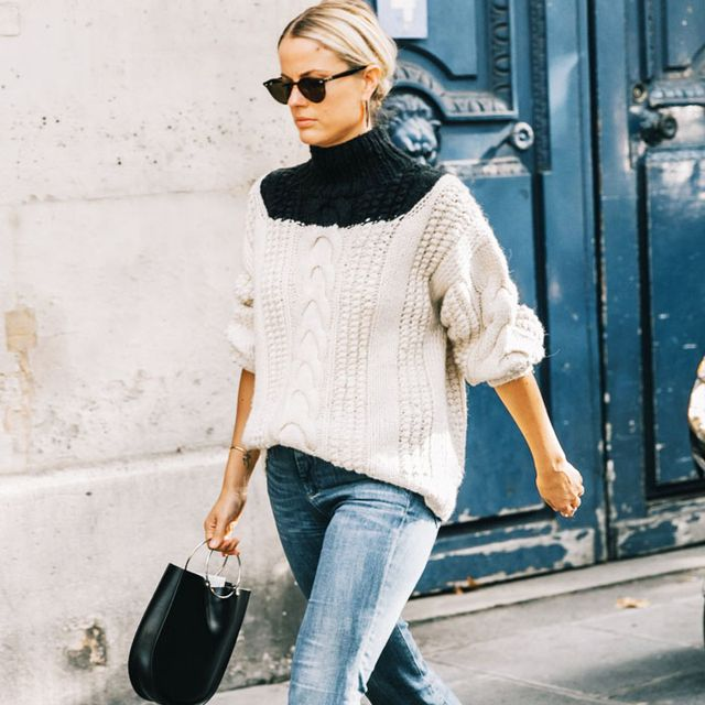 10 Perfect Jumpers Our Coolest Fashion Friends Are Wearing Right Now