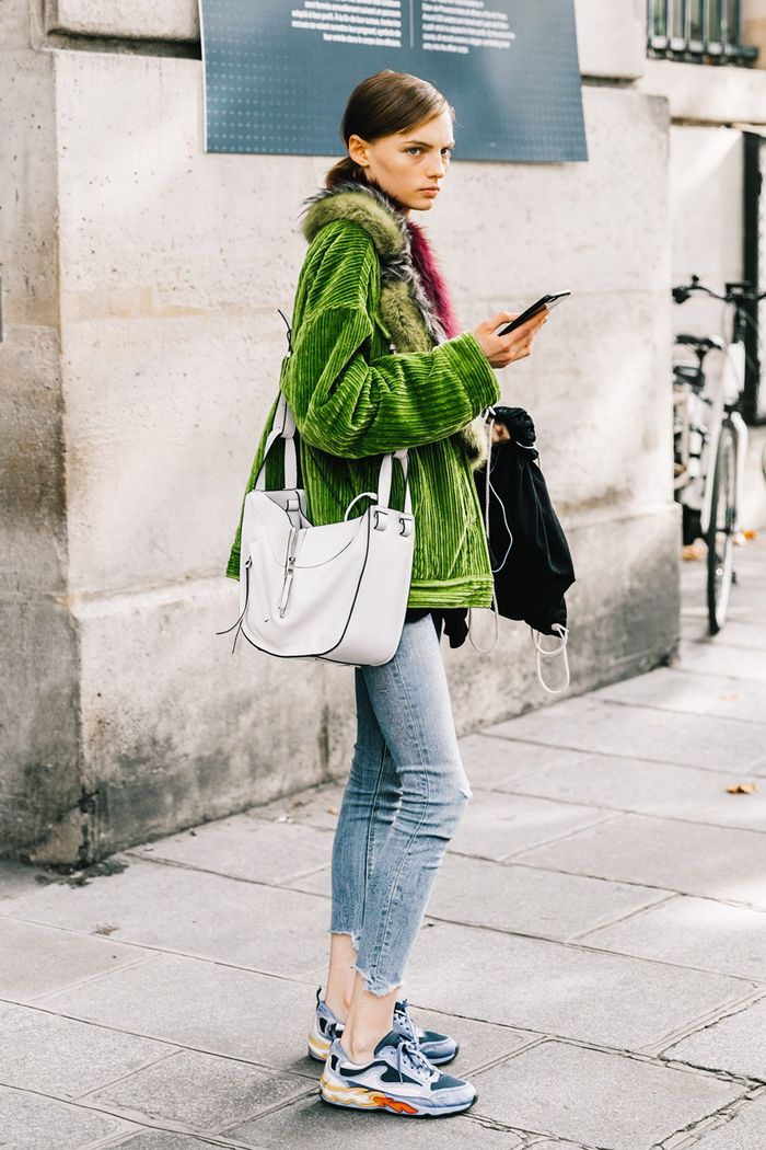 How to Style Sneakers in the Winter